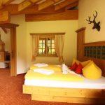 Berghotel Mühle Schlafzimmer Edelweiß Suite