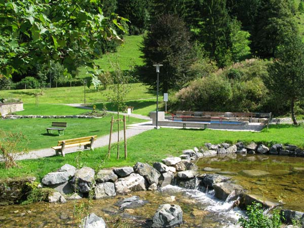 Berghotel Mühle Dorfgarten Kneipanlage