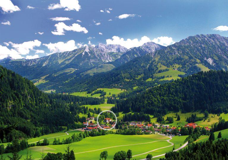 Berghotel Mühle in Unterjoch
