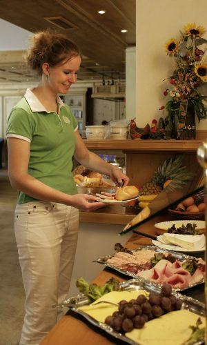 Berghotel Mühle Frühstücksbuffet
