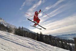 Ski-Sportler