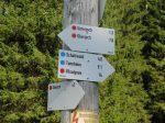 Berghotel Mühle Wegweiser